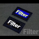 FILTER CALL SIGN PATCH 蓄光タイプ